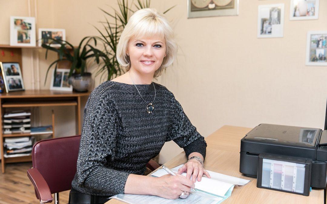 Entrevista a Elena Kalinchankava en nuestras oficinas de Minsk.