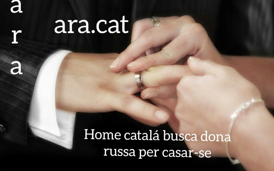 """Diario de prensa Diario Catalán:   """"ara"""""""